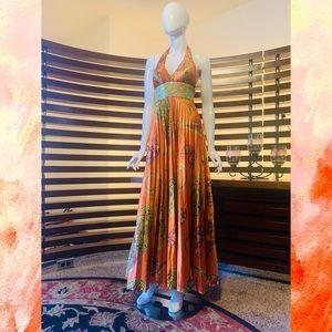 Faviana orange size 4 Prom Dress